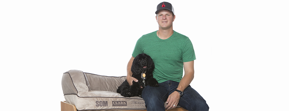 Photographing San Francisco Pitcher Matt Cain and His Dog